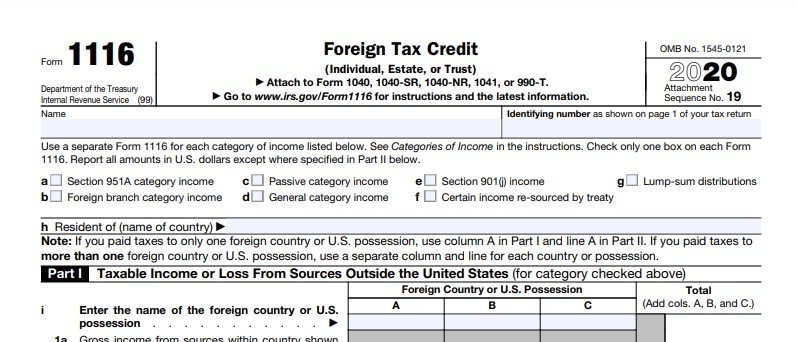 So, how do Foreign Tax Credits work???